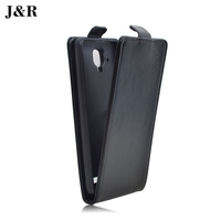 J&R Brand PU Leather Flip For Lenovo A536 Case Cover With Vertical Magnetic Black white Red in stock High Quality