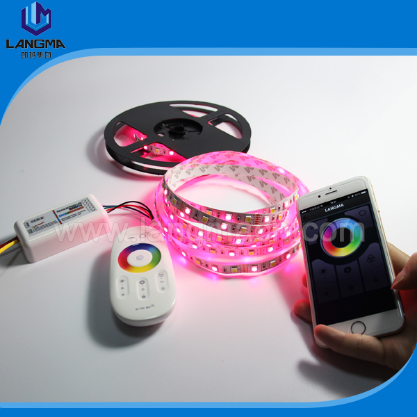 2.4G Touch screen RGBW LED controller RGB+warm white/cool white wireless remote controller for RGBW LED strip light (2pcs/lot)(China (Mainland))