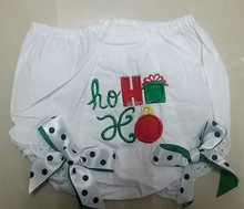 Free Shipping Cute Baby Bloomers with Bow Kids Ruffle Diaper Covers Children Cotton Shorts(China (Mainland))