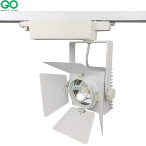 1m LED track light rail aluminum track lighting fixture rail 1 meter Universal rails track rail 2 wire single phase version