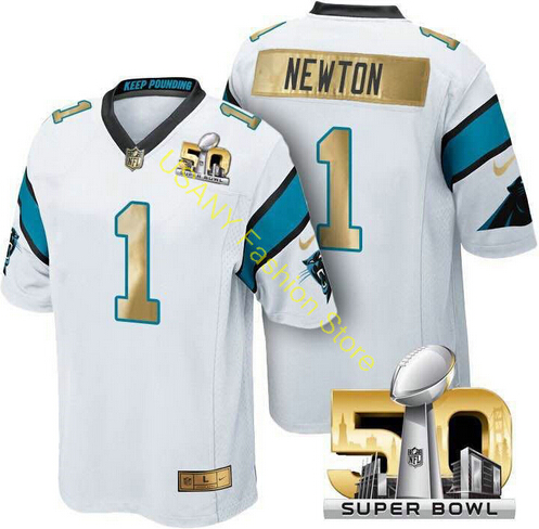 50th Super bowl High Quality Style Carolina &1 Panthers &1 free Shipping all players(China (Mainland))