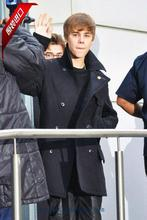 Justin Bieber clothes 2015 new winter long section woolen coat wool coat woolen coat outwear(China (Mainland))