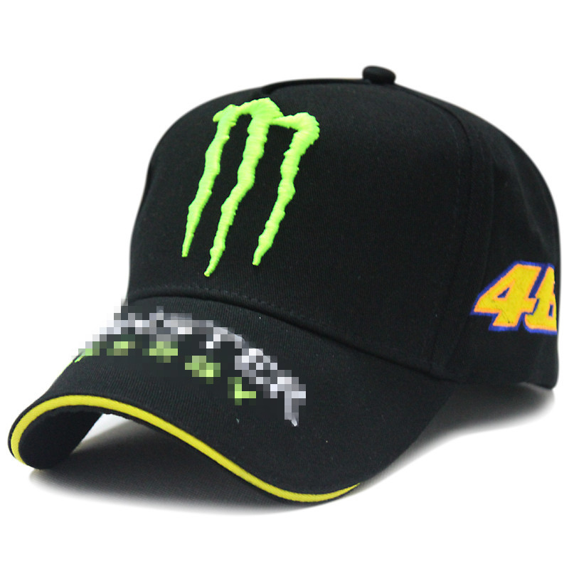 outside sport embroidery car fun baseball cap green paw lucky 46 motorcycle funs hat 2color 1pcs free shipping(China (Mainland))