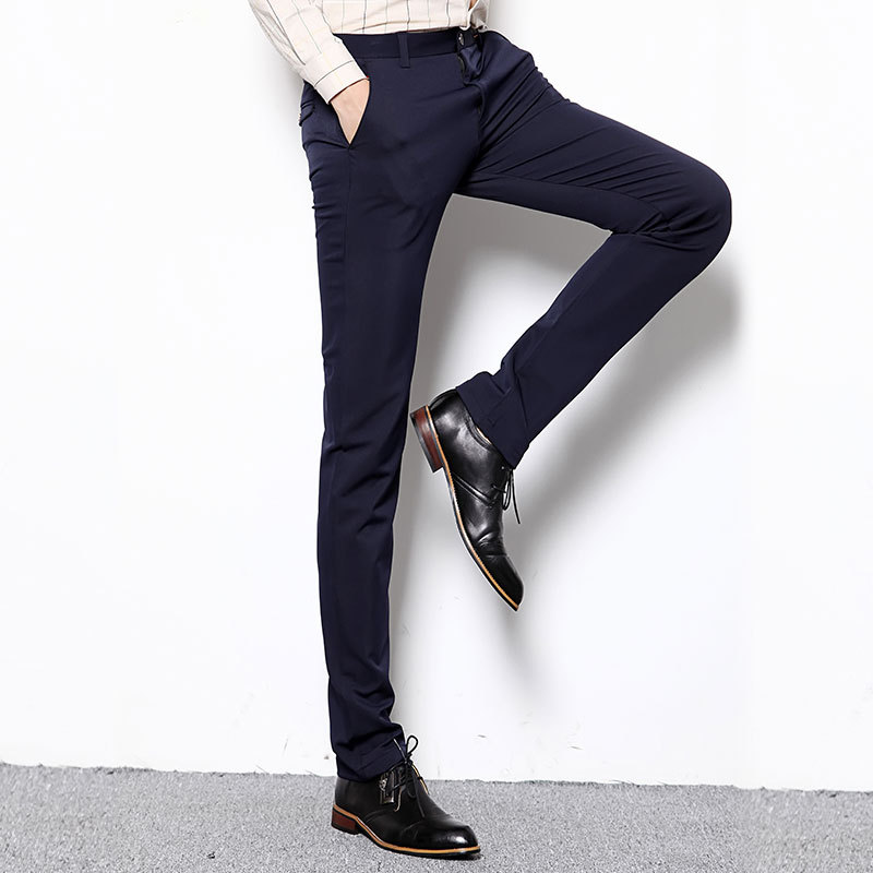 Cut a dash in skinny fit or slim fit smart trousers for a fresh look this season. Buy online. Look the part this season with men's suit trousers from Topman. Cut a dash in skinny fit or slim fit smart trousers for a fresh look this season. Buy online. Men's Skinny Trousers.