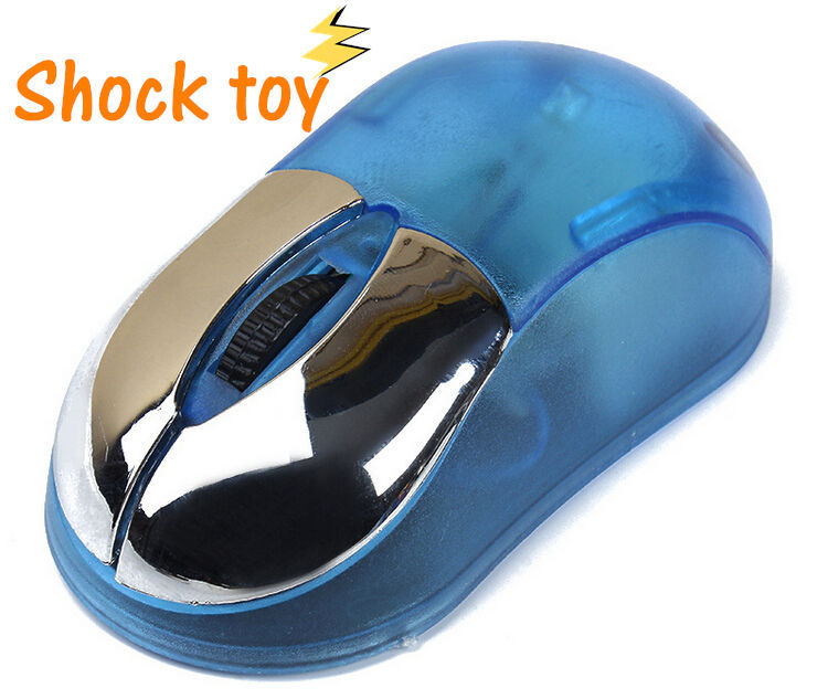 Funny Novelty Toy Mouse Shock Toys Joke Gifts April Fools Day Gifts Prank Toys Trick Products Free Shipping(China (Mainland))