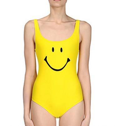 Женский закрытый купальник Unknow Minaj Emoji