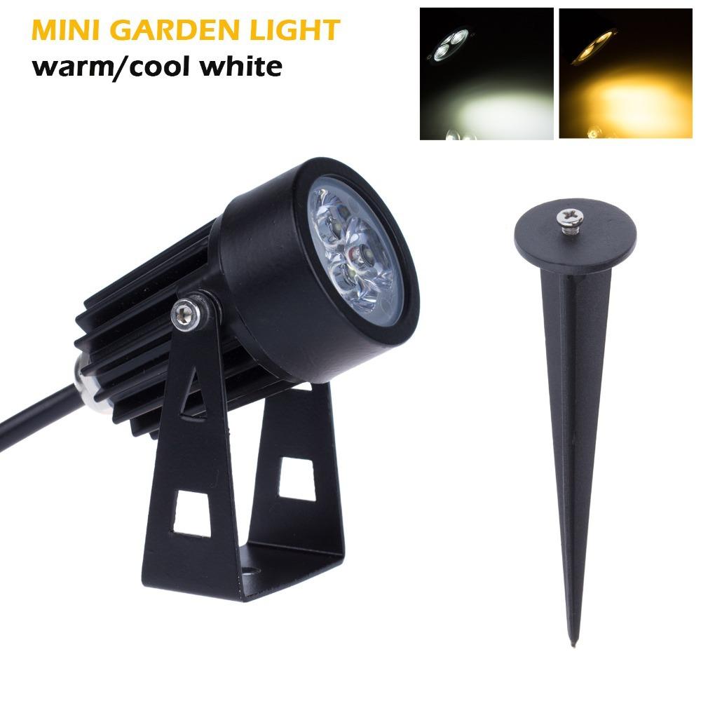 Mini Style LED Lawn Lamps 3W 12V Garden Outdoor Lighting Waterproof IP65 Flood Spot Light Bulbs Floodlighting(China (Mainland))