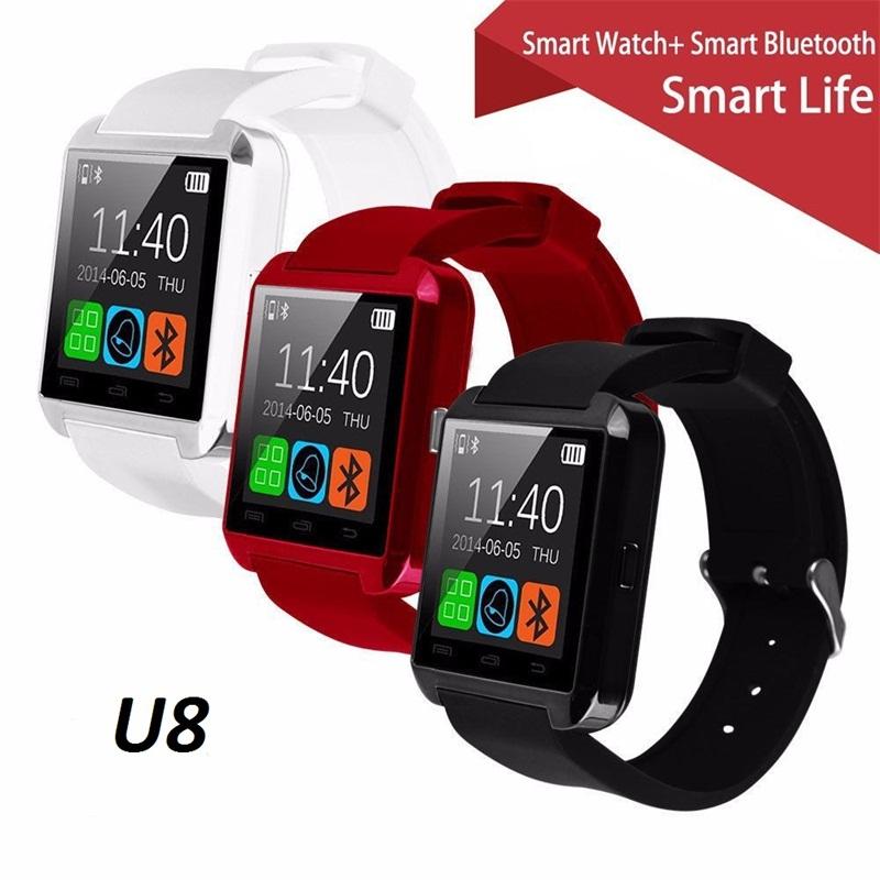 smartwatch bluetooth smart u8 wristwatch