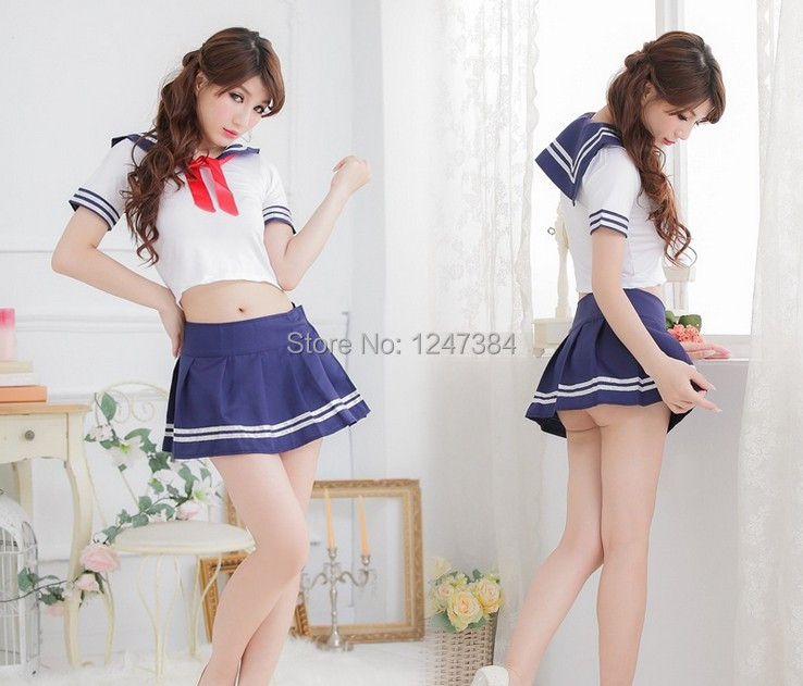 2014 New Sexy Women Costume Red Tape Pure Student Bar Service Role Night Club Hotel Special Clothes Pajamas Ladies Sex Underwear(China (Mainland))