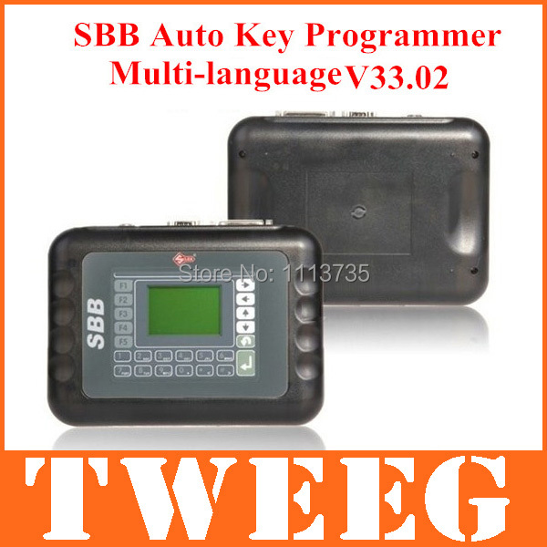 2014 Silca Sbb Car Auto Key Programmer V33 2 New Immobilizer V33.02 Version Free Transponder Programming Tools Newest Shipping(China (Mainland))