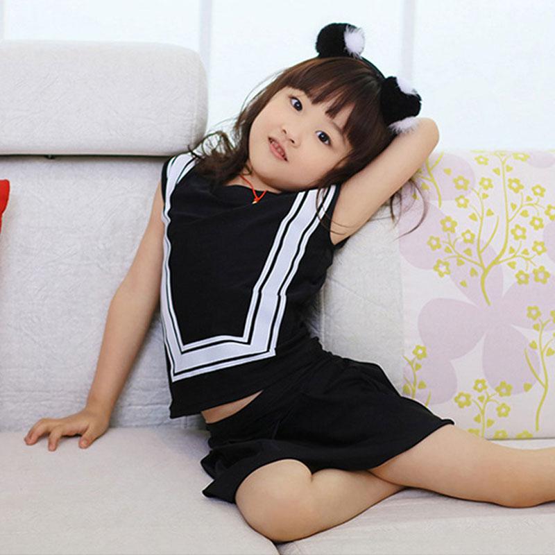 iYiya Black Bathing Suit Girls Swimwear Swim Skirt Baby Girl Toddler Two Pieces Swimsuit Beachwear Childrens Clothes For Kids<br><br>Aliexpress