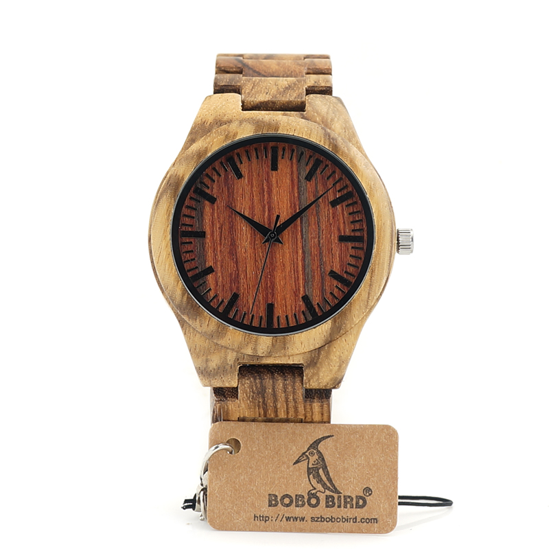 Watches Luxury Wooden Band Casual Wristwatches relogio masculino C-K27 (2)