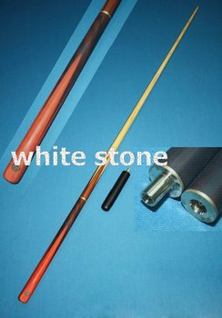 White Ash Snooker Cue 3/4 joint snooker cue Billiard 3/4 Snook Pool Cue Stick,2pcs lot