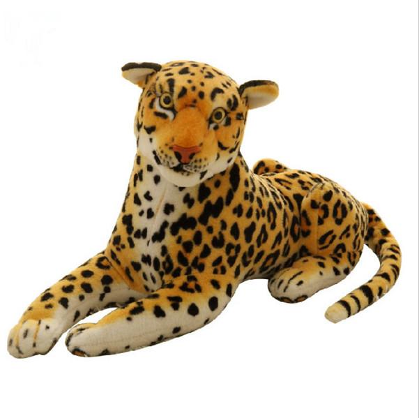 TY Plush Animals Beanie Boos Large Leona Blue Leopard Plush ToysTy Big Eyed Stuffed Animals Soft Toys for Children(China (Mainland))