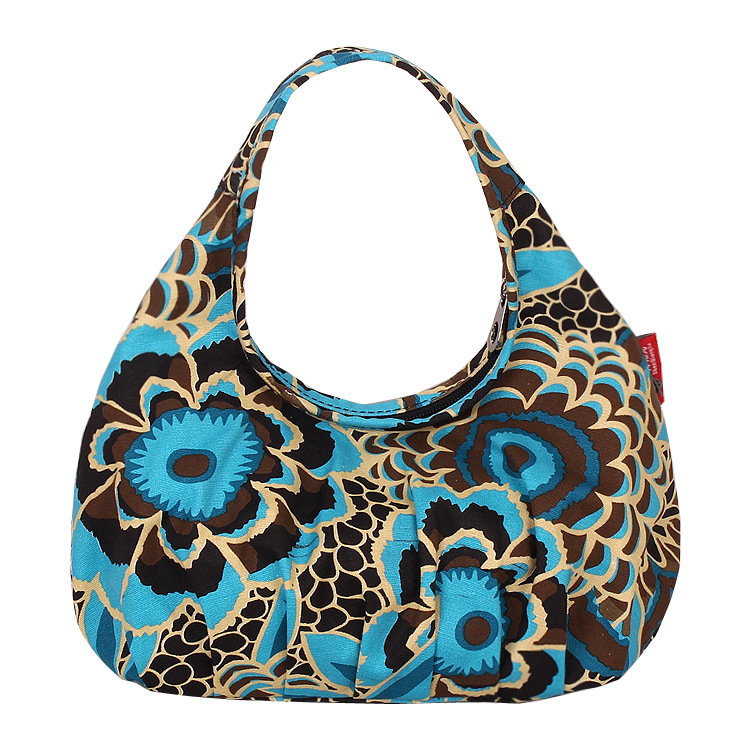 New Arrival Floral Printed Canvas Tote Female Single Shopping Bags Large Capacity Women Canvas Beach Bags Casual Hobo Feminina(China (Mainland))