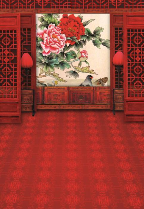 300*600cm(10feet*20feet) Wall paintings of flowers fundos photography photography<br><br>Aliexpress