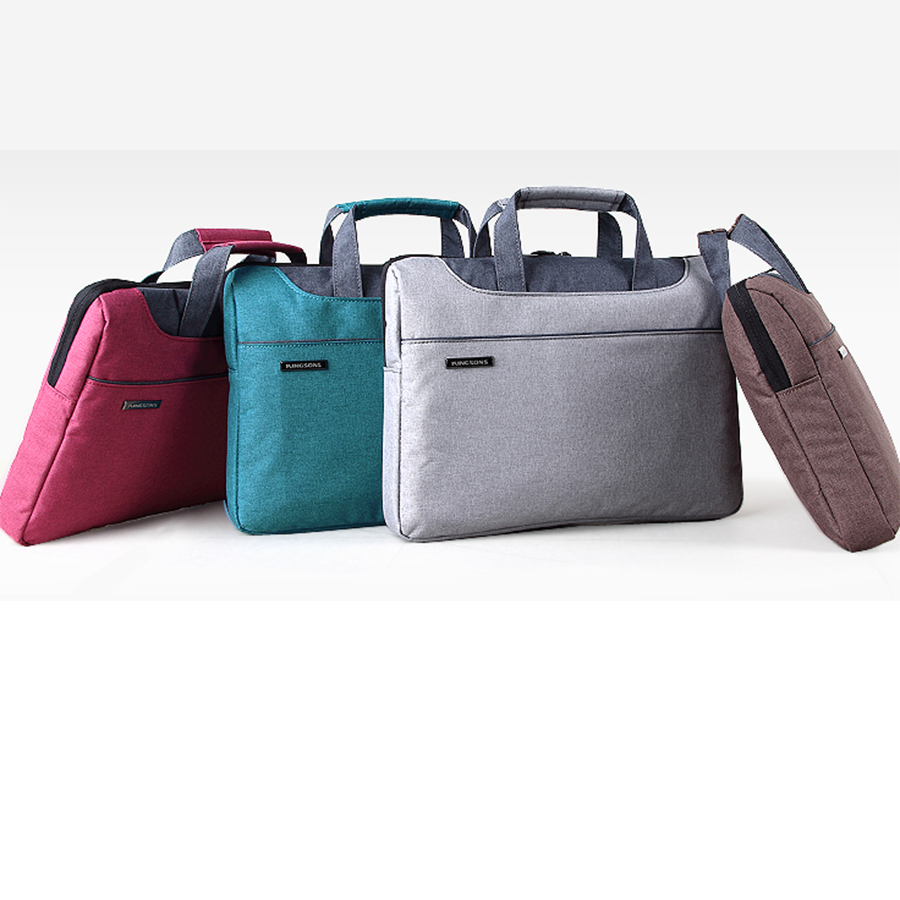 "13"".3 14.5"" 15.6 inch laptop bags,Denim Fabric Laptop/Notebook Computer Sleeve Briefcase Laptop Case Computer Shoulder Bag(China (Mainland))"