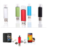 For Samsung Android iphone PC IPAD 8G 16G 32G 64GB Metal Pen drive HD memory stick All mobile phone Otg Micro Usb Flash Drive