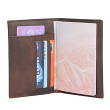 Buy Hot Sale Men Passport Covers Solid Credit Id Card Folders Handmade Passports Holder Case Travel Accessories Passport Wallets for $13.80 in AliExpress store