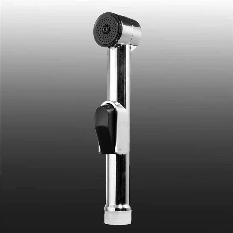 Chrome plated ABS shattaf toilet bidet spray hand held portable bidet shower Home usage Bathroom product(China (Mainland))