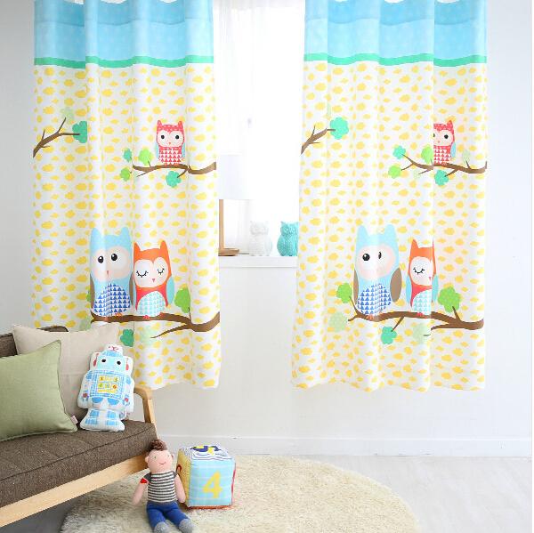 achetez en gros hibou fen tre rideaux en ligne des grossistes hibou fen tre rideaux chinois. Black Bedroom Furniture Sets. Home Design Ideas