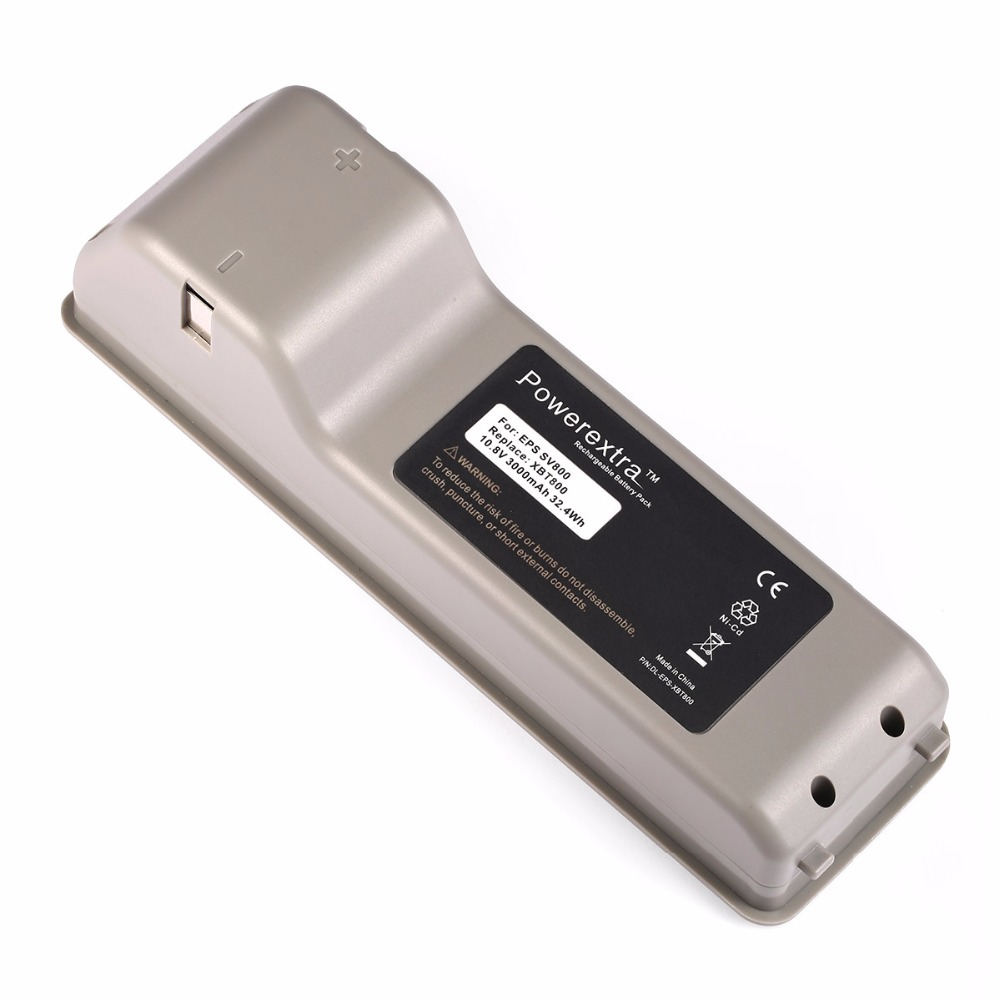 Powerextra 3000mAh 10.8v Ni-CD Rechargeable Battery For Shark Cordless Vac Stick Vacuum Cleaner VX63 SV800 2IN1 XBT800(China (Mainland))