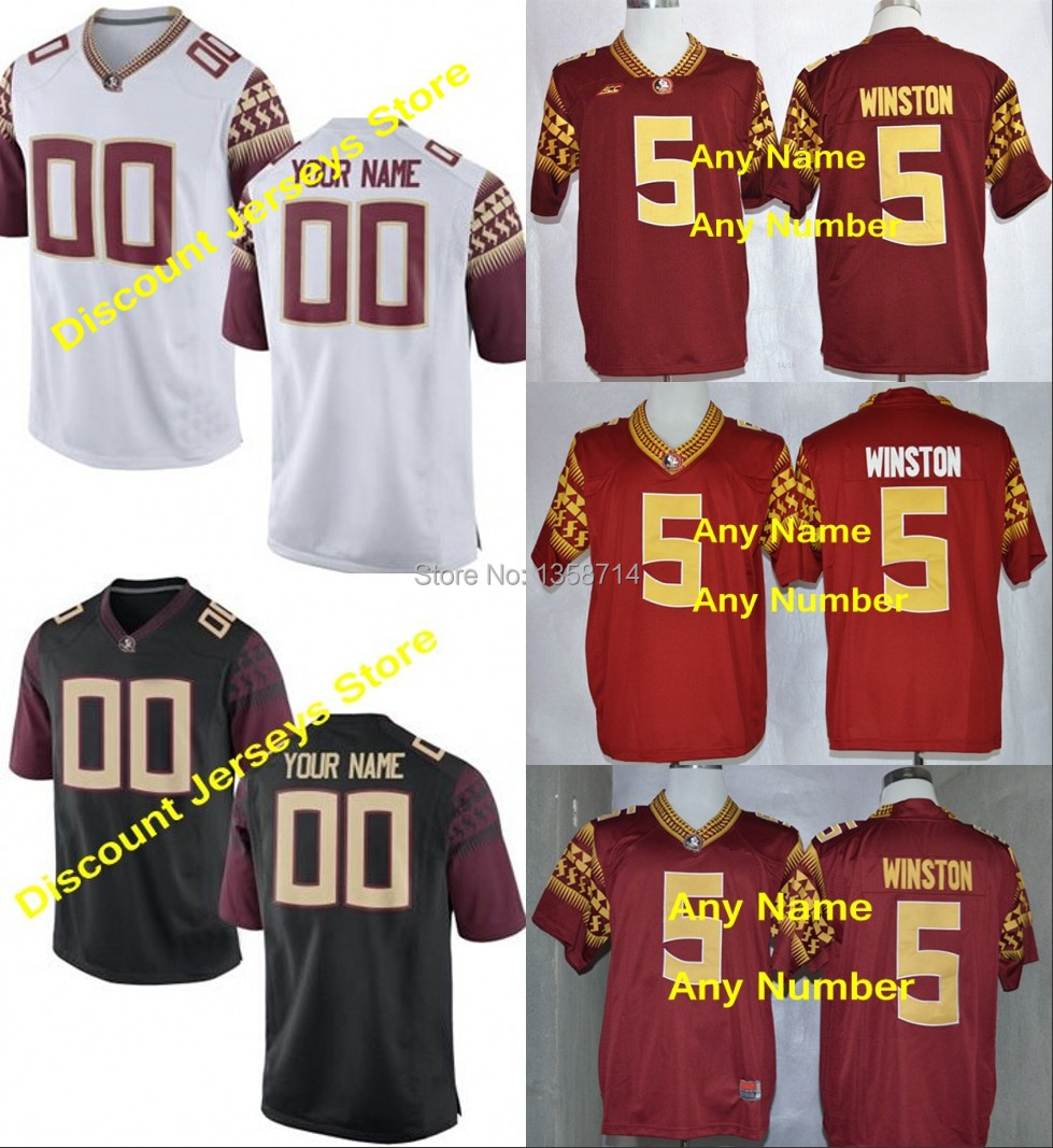 New season Florida State Seminoles (FSU) custom Jersey American College Football Jerseys Add any name any number Embroidery Logo(China (Mainland))