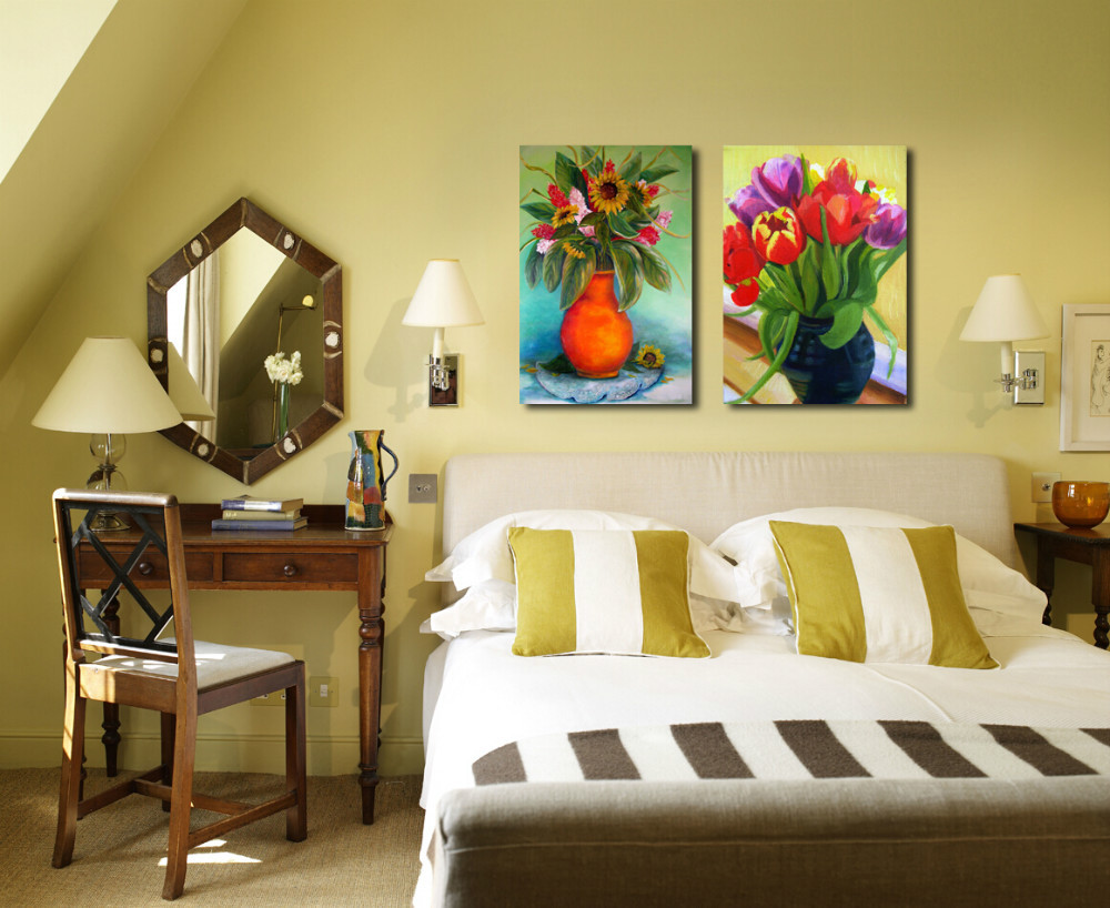 mini jardim de parede:Small-Bedroom-Paint-Colors