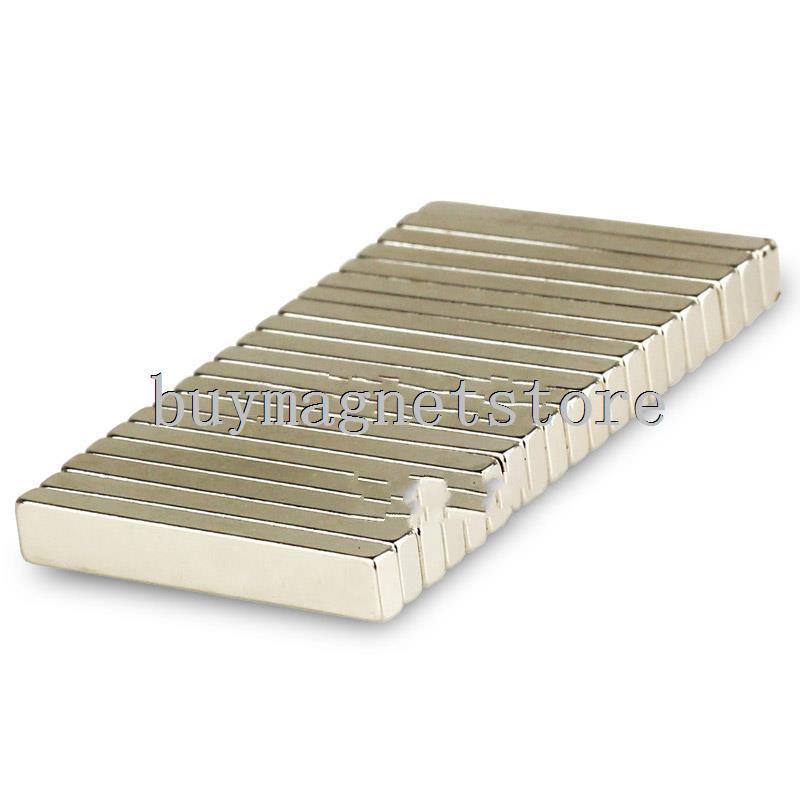 Lot 20pcs Super Strong Bar Block Magnets Rare Earth Neodymium 30 x 5 x 3 mm N35ndfeb Neodymium  magnets<br><br>Aliexpress