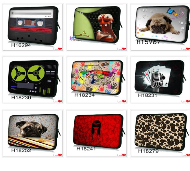 Fashion Novel Computer Neoprene Laptop Bag Cases Notebook Sleeve Cover Pouch Skin 12 inch,13 inch,14 inch ,15 &17 Inch 13.3 Pro Tablet PC - Leon Young store
