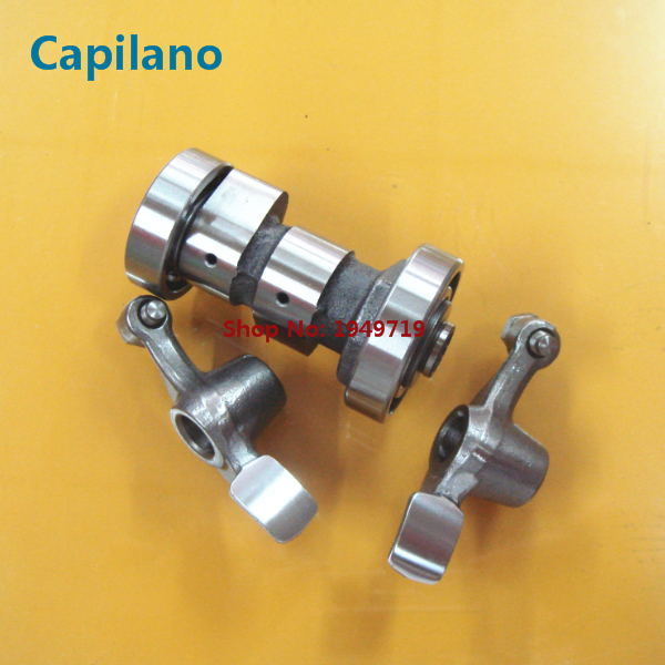 motorcycle / scooter good quality ZY100 JOG100 swing arm / rocker arm with camshaft for Yamaha 100cc JOG ZY 100 cam shaft parts(China (Mainland))