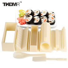 TKDMR Cooking Tools Sushi Roll Mold DIY kitchen Accessories Round Shape Sushi Maker Rice Roll Mold Making Set for sushi roll