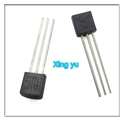 Free Shipping 1pcs DALLAS DS18B20 18B20 18S20 TO-92 IC CHIP Thermometer Temperature Sensor(China (Mainland))