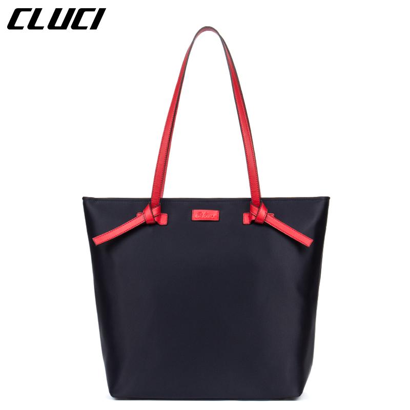 CLUCI Handbags Women Style Shopping Bag Travel Nylon Large Weekender Casual Tote Zipper Shoulder Bag Neverfull Handbag For Women(China (Mainland))