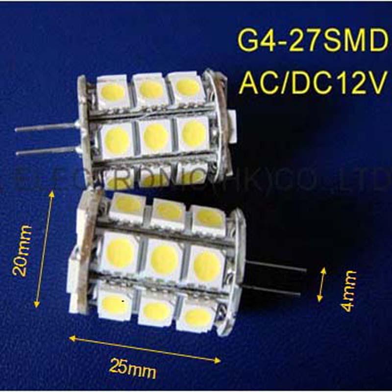 High quality AC/DC12V G4 led bulb,G4 led lights 12v GU4 Downlights,G4 led Crystal lamp 12v LED G4 Lamps free shipping 50pcs/lot(China (Mainland))