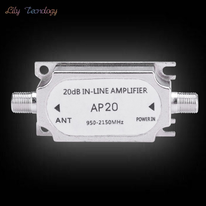 Retail And Wholesale High Qulity Satellite TV Signal Amplifier TV signal amplification Of 20dB 38(China (Mainland))