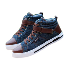 2015 Spring Autumn Hot Casual Men Canvas Shoes Man Rubber Sole Ankle Boots Letters Decorative Fashion Buckle Sneakers #514(China (Mainland))