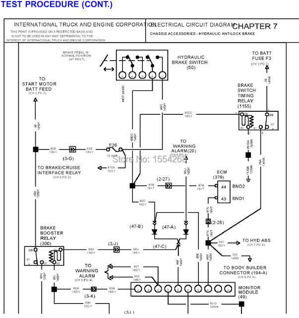 international truck engine wiring diagram. wiring. electrical, Wiring diagram