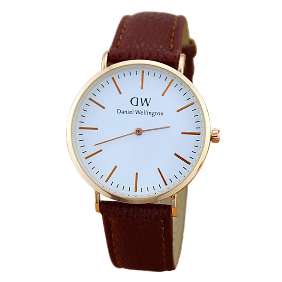 Dw gave me price, simplicity and a 33mm diameter with leather strap.