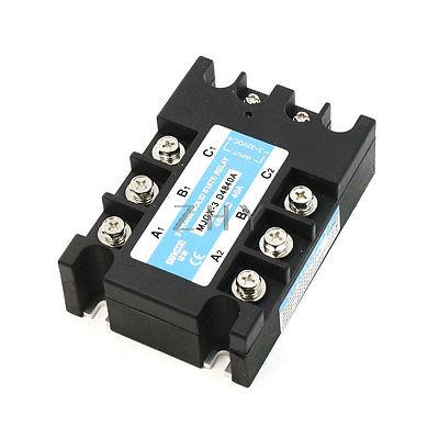 DC to AC Single Phase Solid State Relay MJGX-3 3-32VDC 480VAC 40A<br><br>Aliexpress