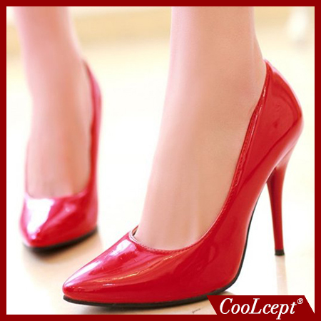 size 32-44 women stiletto high heel shoes pointed toe sexy quality brand wedding fashion heeled sexy pumps heels shoes P16661(China (Mainland))