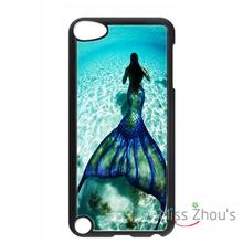 For iphone 4/4s 5/5s 5c SE 6/6s 7 plus ipod touch 4/5/6 back skins mobile cellphone cases cover Sea Mermaid / Mermaids
