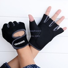 New Fitness Outdoor Sport Gloves Half Finger GYM Weight Lifting Exercise Training Gloves