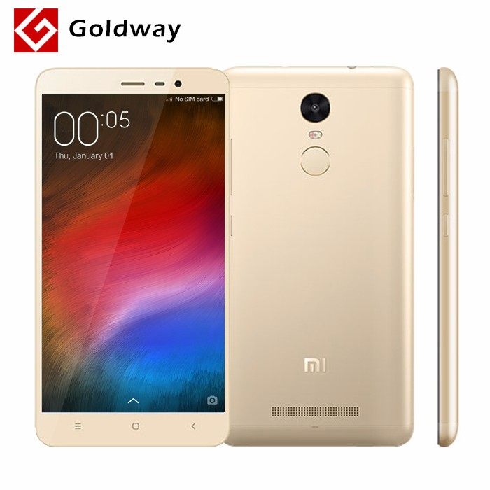 "Original Xiaomi Redmi Note 3 Pro Prime Snapdragon 650 32GB ROM Mobile Phone 5.5"" 1920x1080 3GB RAM 16MP Metal Body Fingerprint(Hong Kong)"
