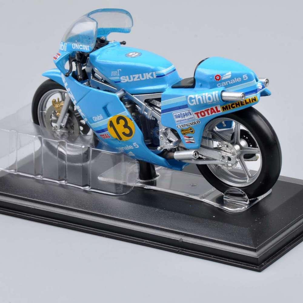 1/22 Italeri Motorcycle Model Diecast Collectible Mini SUZUKI RG-r 500 World Champion 1982 rider F.Uncin Kids Gift Collections D(China (Mainland))