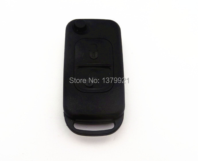 Remote Flip Folding Key Shell Case For Mercedes Benz M S CL M ML E SL
