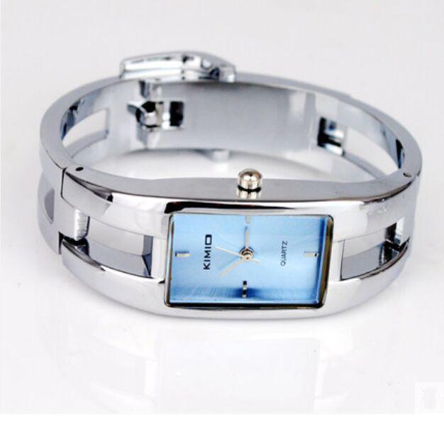 Kimio unique strap authentic watches, steel belt bracelet quartz female table, multicolor students watch wholesale and retail(China (Mainland))