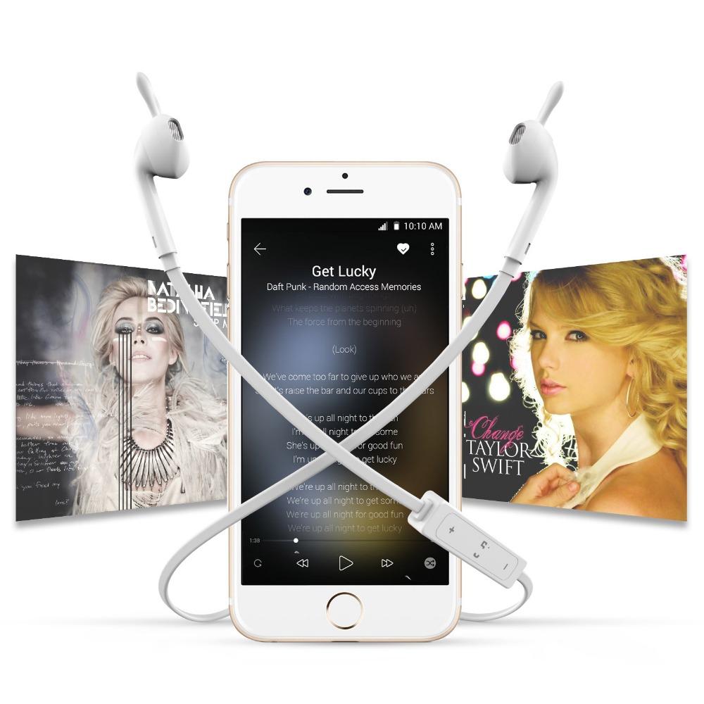 New Original Wireless Headset Bluetooth 4.1 stereo Ear Phone headphones earphone Sport Bluetooth Headphone for iPhone Samsung