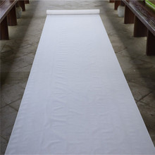 White Wedding Runner Carpet