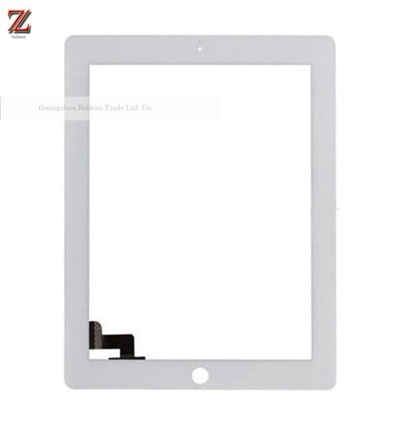 100% Tested Free DHL 3-7days For Ipad 2 Touch Screen Digitizer (Assembly With Home Button Camera Frame 3M)100pcs Wholesale